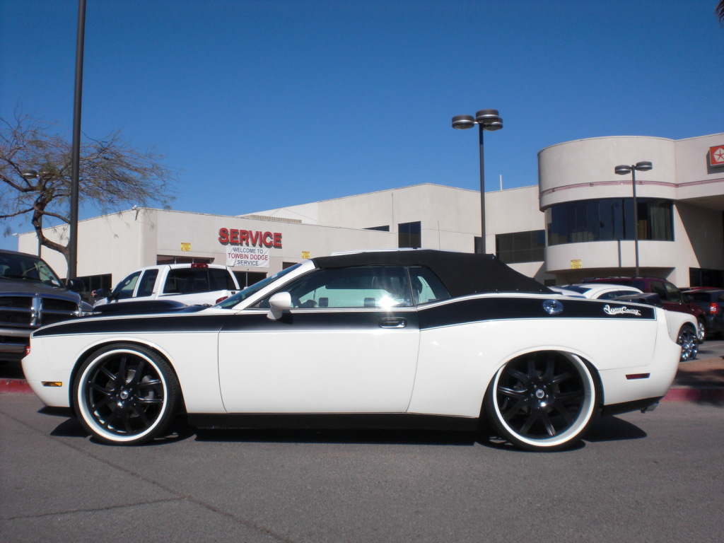 Dodge Challenger R T Widebody Convertible By West Coast