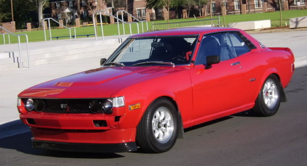 Honda S2000-Powered 1977 Toyota Celica GT Coupe