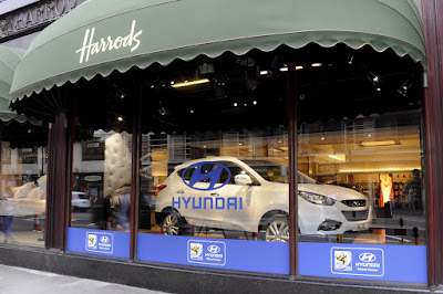 Hyundai Harrods 1  Hyundai Makes it to Harrods Photos