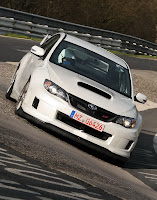 2011 Subaru Impreza WRX STI Prototype 003 2011 Subaru Impreza WRX STI Test Car Laps the Nurburgring in 7:55.0 , Faster than Panamera and CTS V   photos