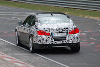 2011 BMW M5 8 SPIED 2011 BMW M5 Super Saloon Sheds More Camouflage Photos