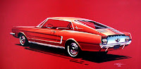FordMustangSketch 01  Ford Dumps Mercury Brand Photos