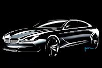 BMW Gran Coupe Sedan 13  BMW Gran Coupé Concept Coming with 6 Series Badge in 2012 Photos