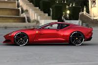 Ferrari 612 GTO Concept 24  Ferrari 612 GTO Design Concept by Sasha Selipanov   Photos