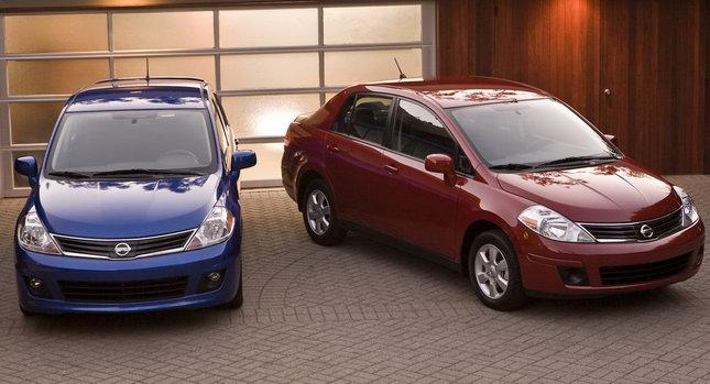 2011 nissan versa sedan and hatchback models get price hikes. Black Bedroom Furniture Sets. Home Design Ideas
