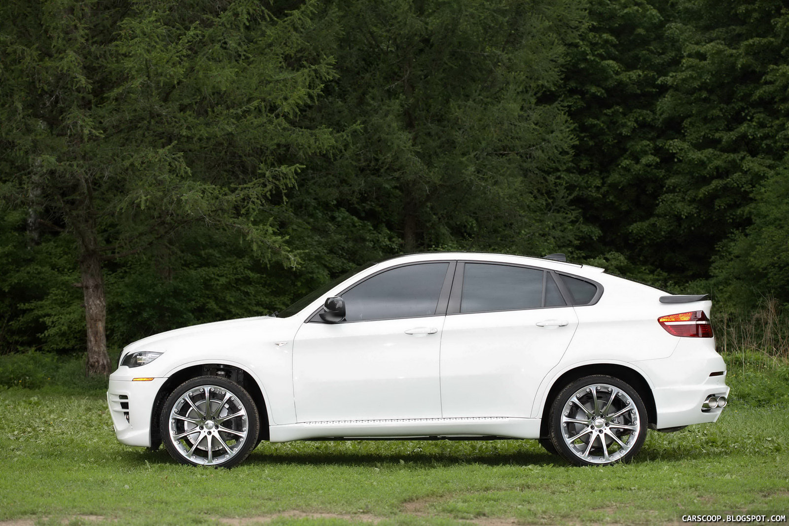 Carscoop Russian Tuner Status Design Does The Bmw X6 Sav