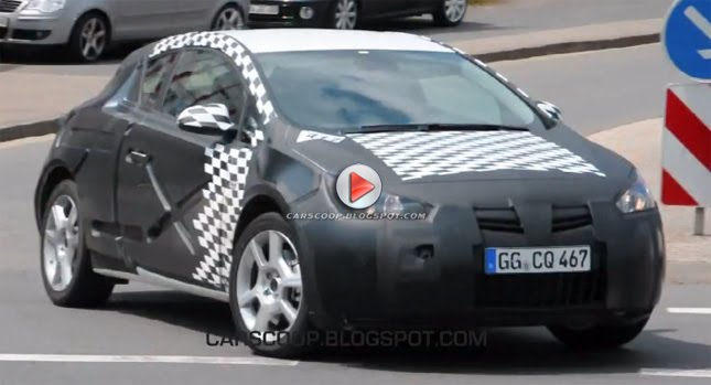SPY VIDEO: 2011 Opel Astra GTC and GTC Turbo, Could Rival VW Scirocco