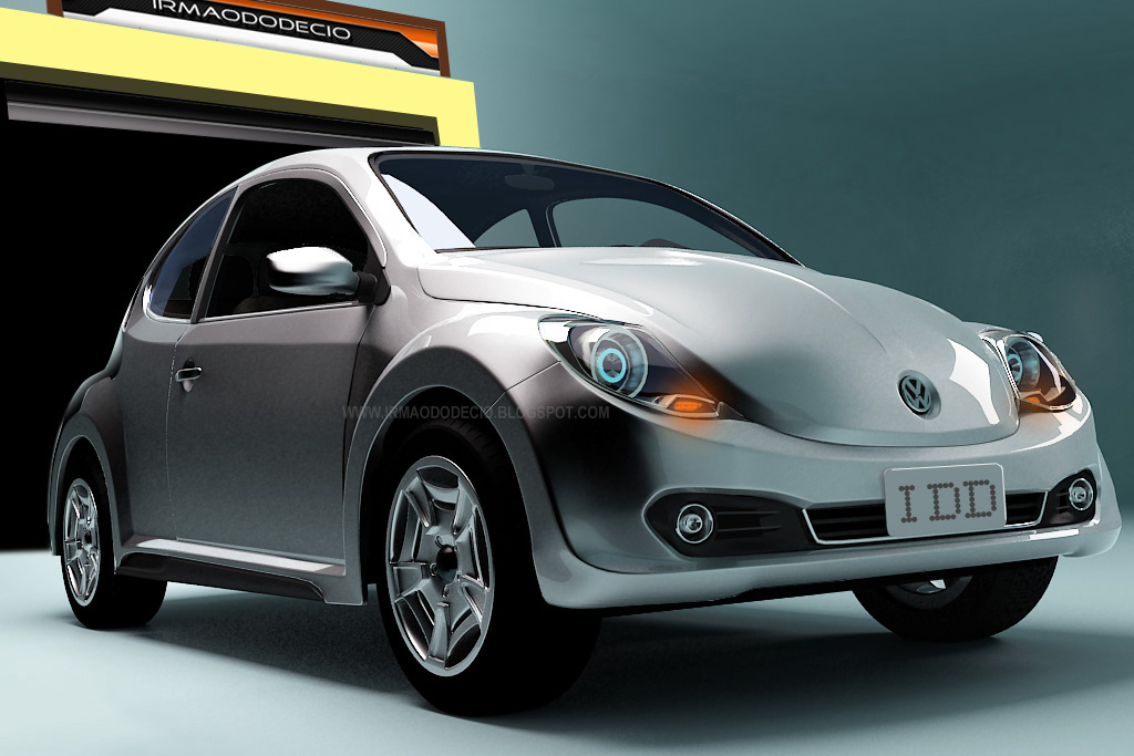 The New Volkswagen Beetle 2012. Retro Take for 2012 New VW