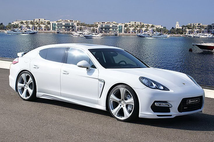 Hofele Design Outfits Porsche Panamera With New Body Kit