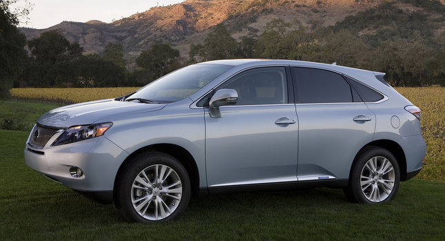 Lexus RX 2010  Tesla Working on All Electric Toyota RAV4 and Lexus RX Prototypes