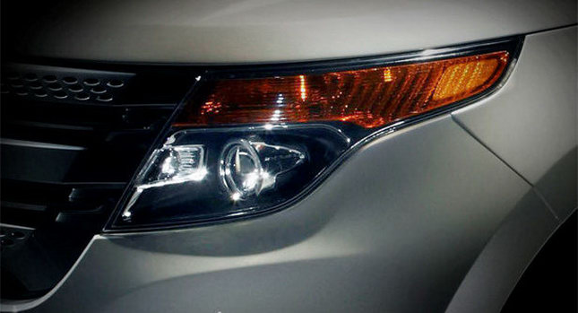2011 Ford Explorer 01 2011 Ford Explorer SUV Lame Teaser Pictures Round 4