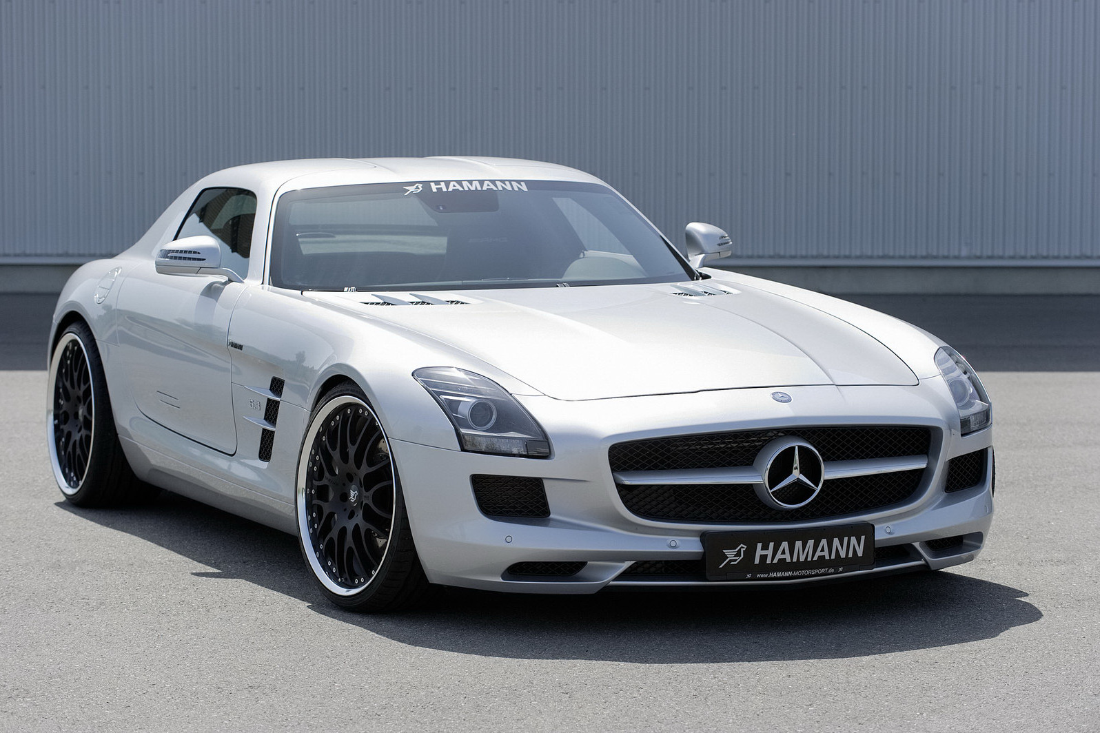 2010 mercedes benz sls amg by hamann. Black Bedroom Furniture Sets. Home Design Ideas