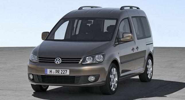Audi Car Volkswagen Unveils Redesigned 2011 Caddy Minivan