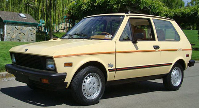 1987 Yugo GV Sport 01 5 of Historys Most Dangerous Cars