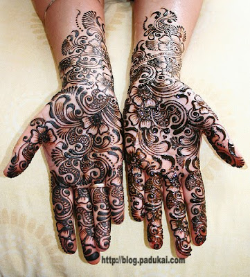 Latest Arabic Mehndi or Mehandi or Maruthani Designs
