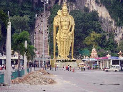 Sri Murugan Temple Batu Caves, Penang, Malaysia