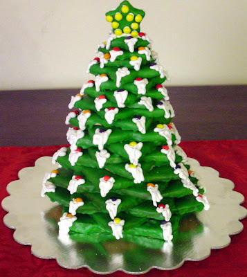 Christmas Tree Cake Picture