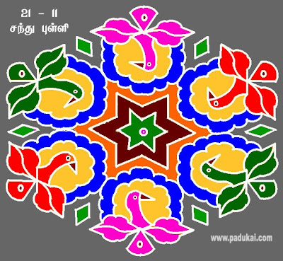 Wonderful Colourful Designs Kolams and Amazing Rangoli