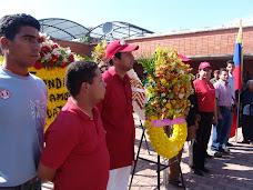 Ofrendas Florales en el marco de los 148 años de la muerte de Zamora
