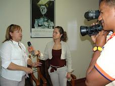 Presidenta de CAYPUEZ estuvo en San Carlos