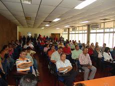Miembros de la comunidad unellista asistieron a la toma de posesión