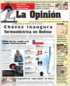 Aniversario del Diario La Opinin