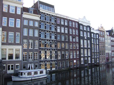Houses next to canals