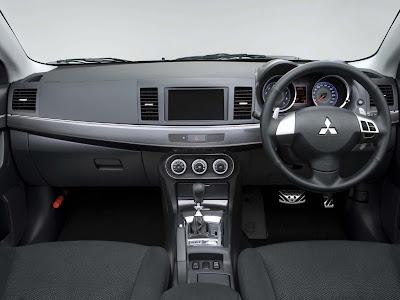 2009 Mitsubishi Galant Fortis Ralliart interior