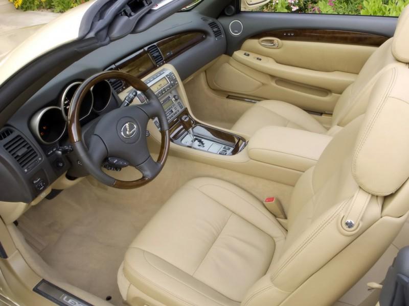 Lexus Is220 Interior. 2005 Lexus SC430