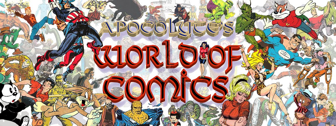 APOCOLYTE&#39;S WORLD OF COMICS