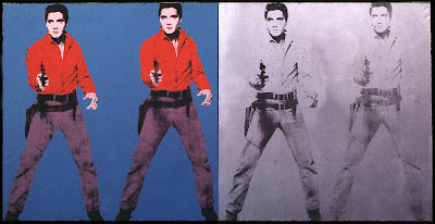 Elvis I and II warhol