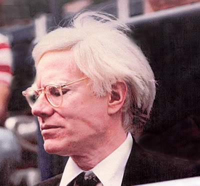 Andy Warhol Enjoying the Tennis Tournament in Far Hills