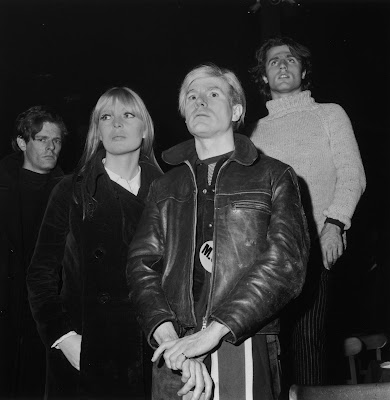 Andy Warhol Nico and Gerard Malanga