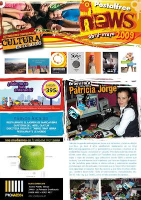 Newsletter Abril Mayo 2009 Postal Free Las Palmas de Gran Canaria