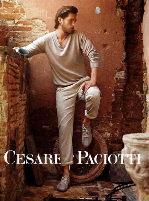 Cesare Paciotti -Mariano Vivanco en www.elblogdepatricia.com