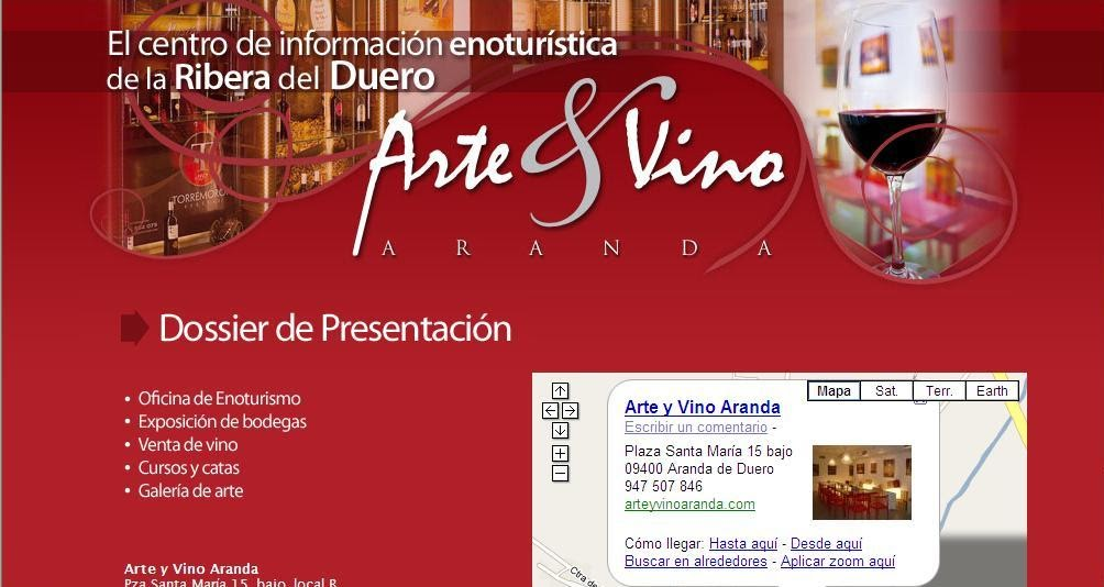 La oficina de turismo virtual de la ribera del duero lo for Linea duero oficina virtual