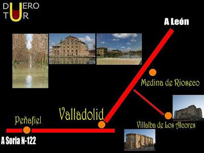 La oficina de turismo virtual de la ribera del duero for Oficina de turismo de castilla y leon