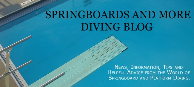Springboards and More Diving Blog