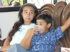 Katherine y Miguel Antonio