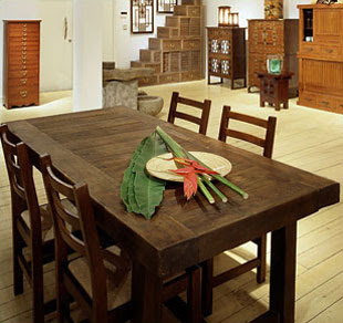 tiquetikidz79: Rustic Dining Room Tables