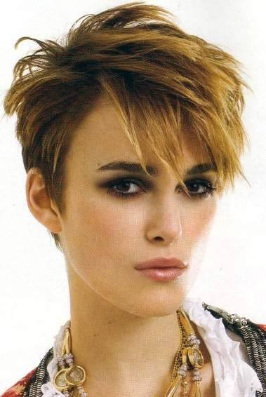 keira knightley short hair photos