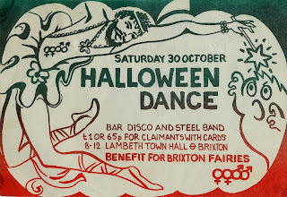 Flyer for benefit dance for gay theatre group Brixton Faeries, c1982. LSE/HCA/TOWNSON/TEMP/23.