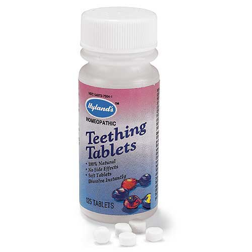 RECALL: Hyland's homeopathic teething tablets