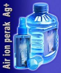 Air Ion Perak (Oligodynamic Ag+)