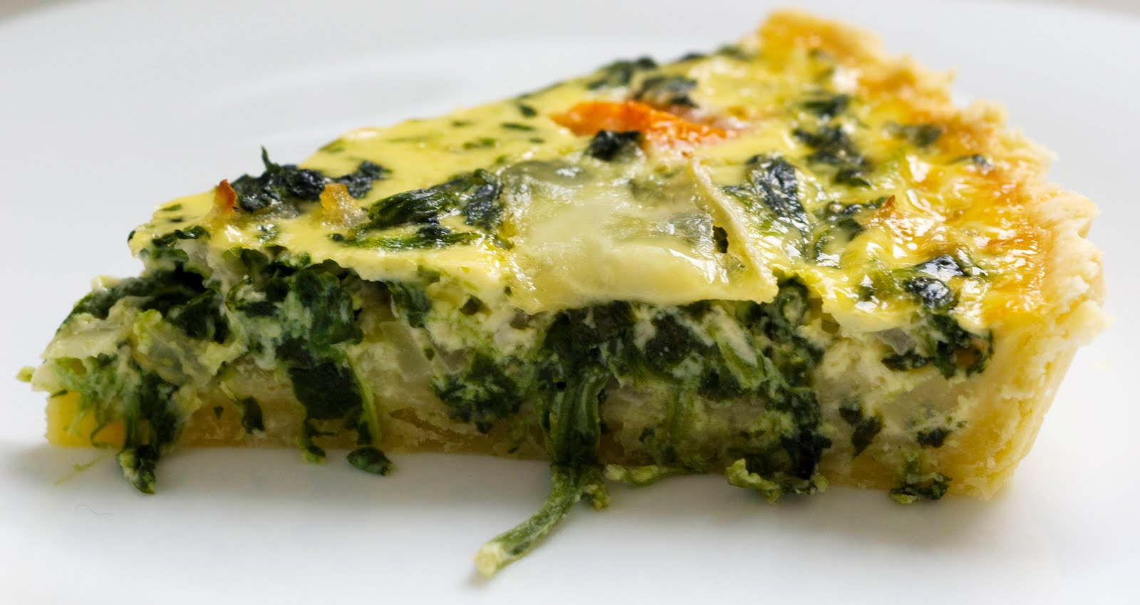 Spinach Quiche | The Baker in Me ~ Bake, Baking, Baked.