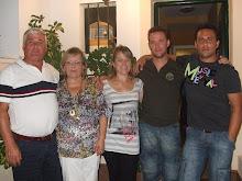 Con mi marido y mis Hijos