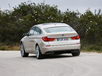 BMW call this 5-Series Gran Turismo a Progressive Activity Sedan (PAS)