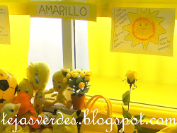 Exposición del color amarillo