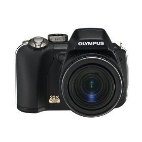 Olympus SP-565UZ 10MP Digital Camera with 20x Optical Dual Image Stabilized Zoom