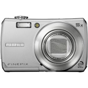 Fujifilm Finepix F100fd 12MP Digital Camera with 5x Wide Angle Dual Image Stabilized Optical Zoom
